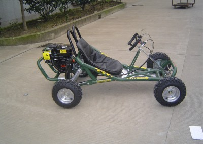 Army Green Go-Cart